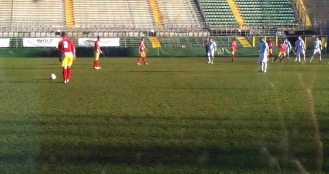 SUD TIROL-ALBINOLEFFE 0-1 : Vittoria Celeste di rigore in extremis