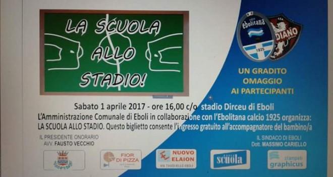 """L'Ebolitana prepara la festa: invitate le scuole al """"Dirceu"""""""