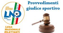 3a cat. Lecce, giud. sportivo: 3 giornate a Otsos, 2 a Sciolti