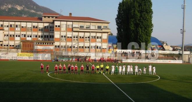 Gli spogliatoi di Borgosesia-Gozzano