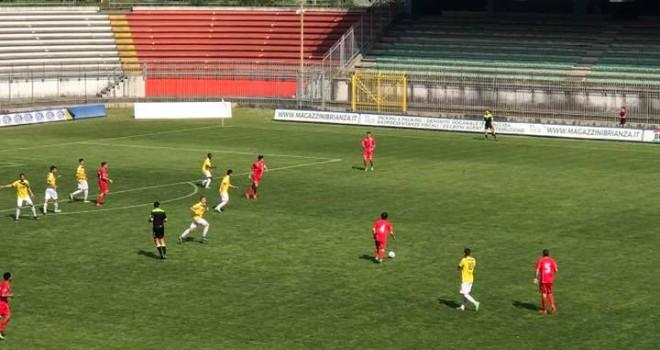 Il Ciliverghe ferma sull'1-1 la capolista Monza
