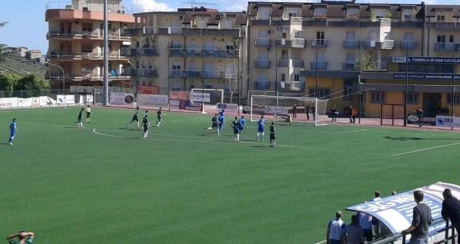 Il derby è del Gela, Sancataldese annichilita 0 - 3