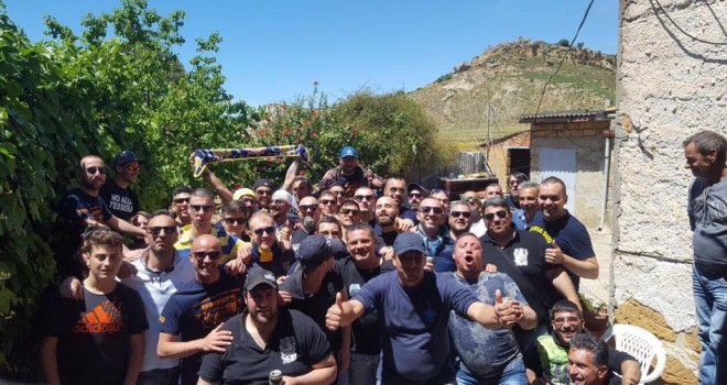 Juve Stabia, i tifosi stabiesi ringraziano i supporter dell'Akragas