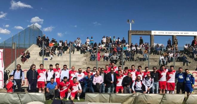 3a cat. A. L'Alba Sant'Agata festeggia il ritorno in 2a categoria