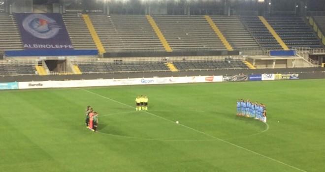 ALBINOLEFFE-PORDENONE 1-1: Celeste al quinto pareggio consecutivo