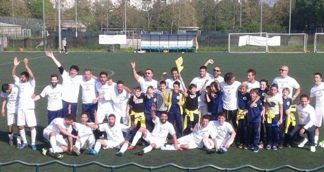 Real Venaria promosso in 1° categoria