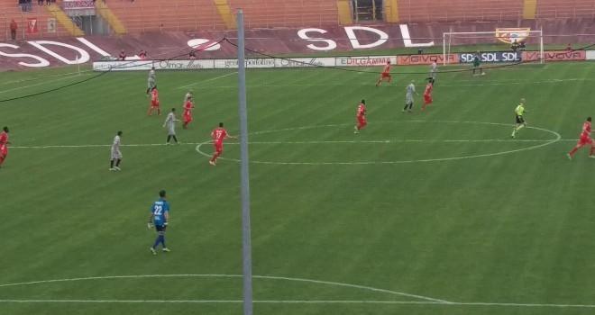 Primo goal di Sodinha: il Mantova fa 1-1 con il Forlì al Martelli