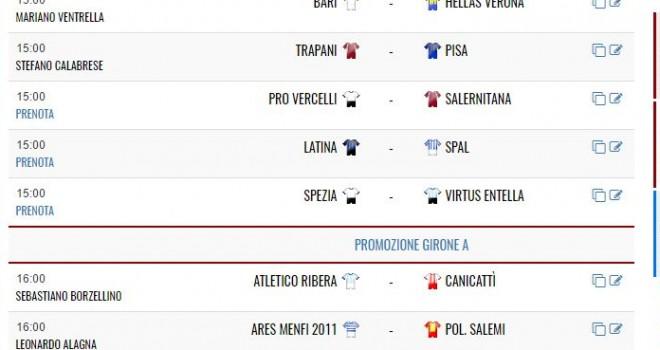 Oggi su IamCalcio: la Serie B e gli anticipi di Promozione!