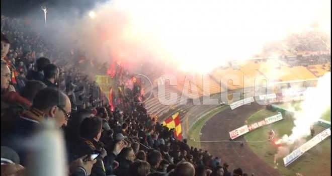 Lecce-Catania: aggiornamento biglietti. Ampliata la capienza