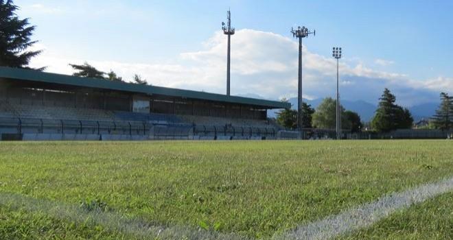 Stadio Ezio Abate, teatro dell'andata