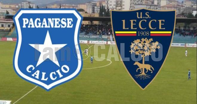 Paganese-Lecce, probabili formazioni: chi scenderà in campo?