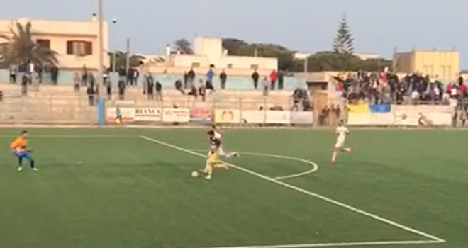 Atletico Racale-Capo di Leuca 2-1: il gol di Pedone(VIDEO)