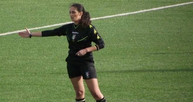 L'arbitro Maria Teresa Cassano