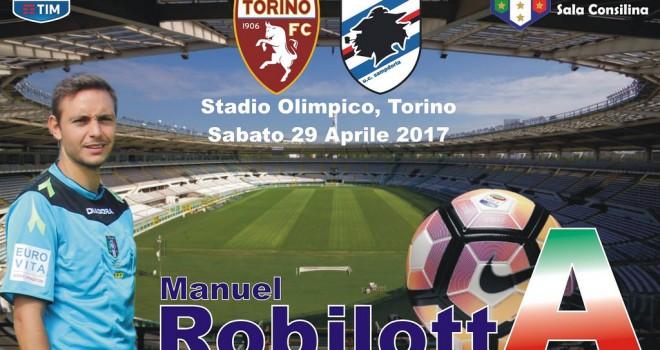 Manuel Robilotta in A: sarà assistente sabato in Torino-Sampdoria