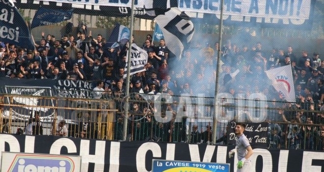 Cavese-Sarnese, parte la prevendita per la gara di domenica
