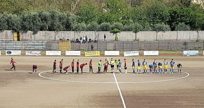 Il Sorrento FC rischia a Solofra, pari e 2° posto confermato
