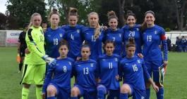 U16, Italia-Belgio 1-1, azzurrine qualificate, sarà finale con gli Usa