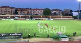 """Altalena di emozioni al """"Pozzo"""" tra La Biellese e Juventus Domo"""