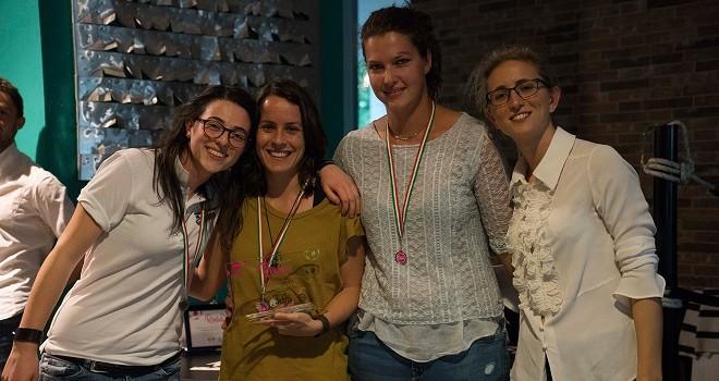 Le premiate del Pallome Rosa 2017