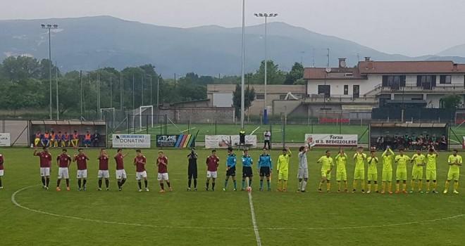 Bedizzolese-Romanese 1-2: granata già fuori dai playoff