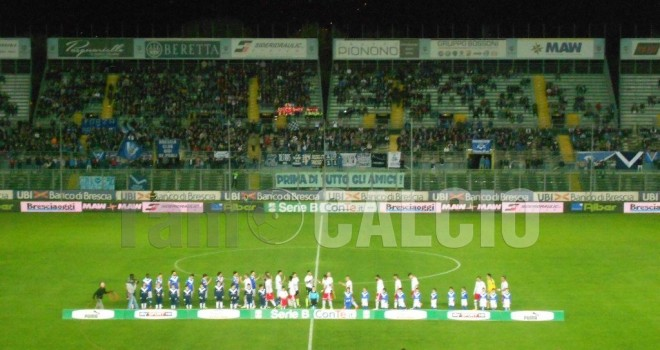 Coppa Italia, Brescia-Padova: info e biglietti