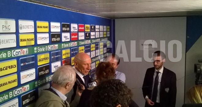 Gigi CAgni in sala stampa