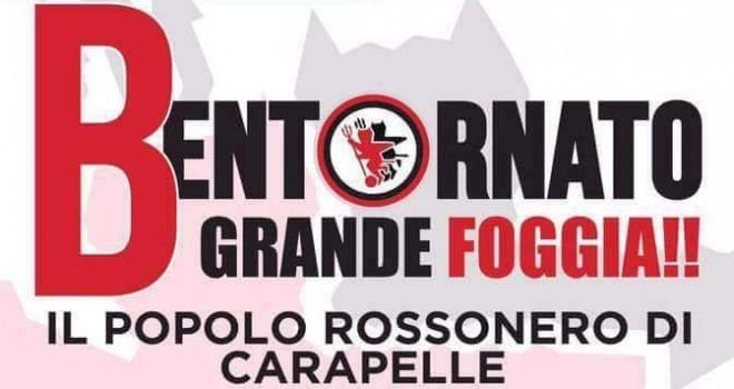 Carapelle ospita il Foggia: giovedì festa in piazza