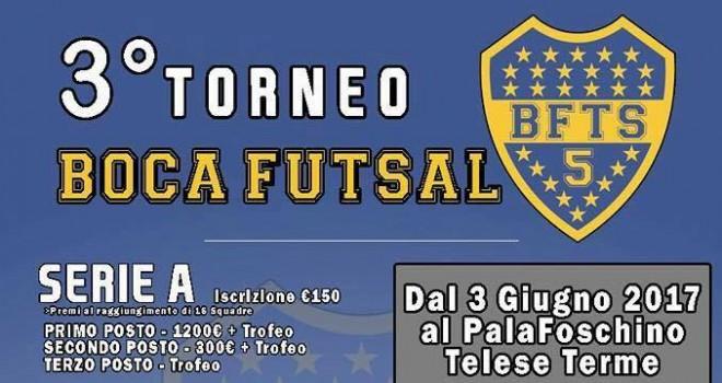 """Boca Futsal. Al via il """"3° Torneo Boca Futsal"""": tante le competizioni"""