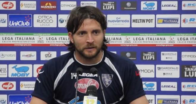 Il difensore centrale potentino Giosa passa dal Lecce all'Alessandria