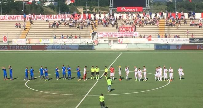 Teramo-Lumezzane 0-0: abruzzesi salvi, valgobbini scendono in Serie D