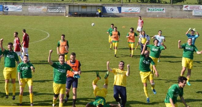 Villaclarense-Quinzanese 2-1: i gialloverdi approdano ai playoff