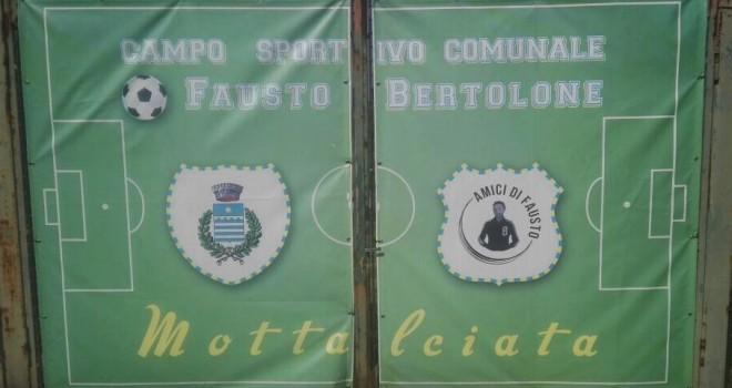 A Mottalciata il '4° Memorial Fausto Bertolone'