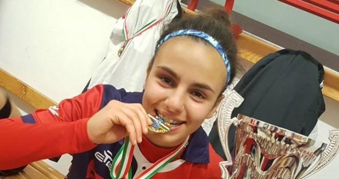 """U16, Maria G. Ladu : """"Con sacrificio e impegno possiamo migliorarci"""""""
