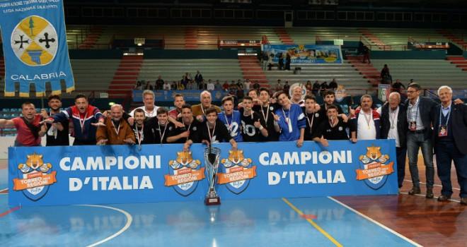 TdR Futsal - Juniores: la Calabria entra nella storia