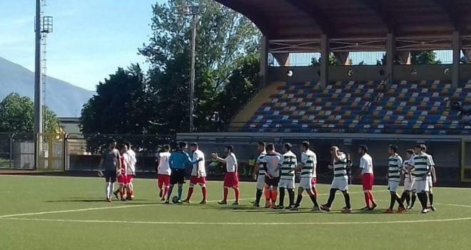 Vittoria di rigore per l'Intercampania, Sporting Domicella battuto