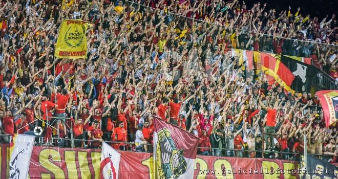 Benevento - Sassuolo: lunedì al via la prevendita dei biglietti