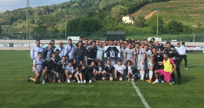 Adrense termina la stagione battendo Calvina, Pià dice addio al calcio