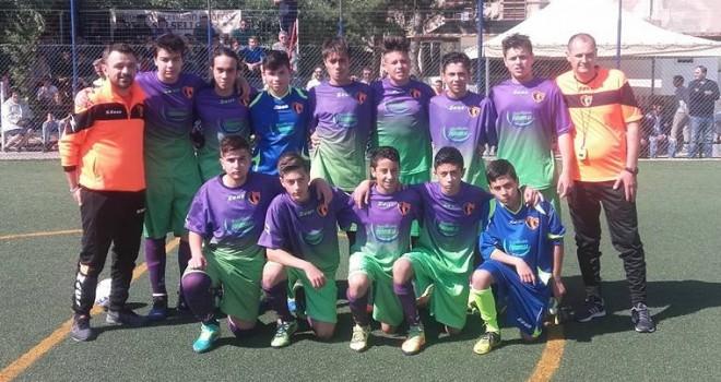 Giovanissimi Santos Club Bisceglie: pari beffa contro il Napoli