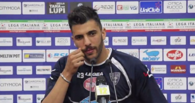 """Lecce-Reggina. Ciancio: """"Vittoria importante, gruppo forte"""""""