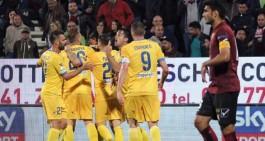 Vittoria amara per il Frosinone sulla Pro, in A va il Verona