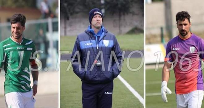 Il Faiano riparte dalla base: confermati allenatore, capitano e vice