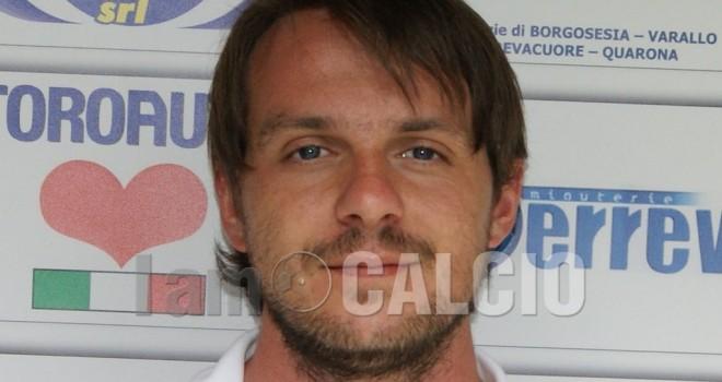 Francesco Alberti nuovo tecnico della Juniores del Borgosesia