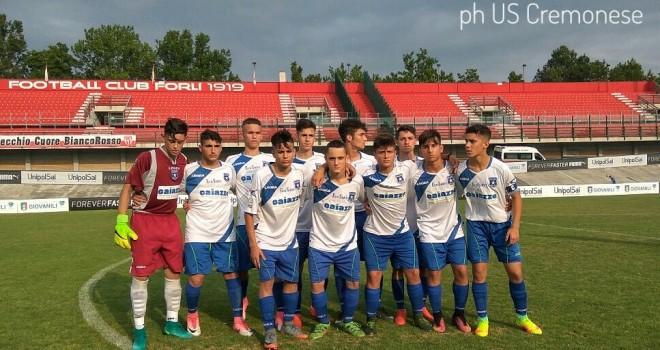 Paganese Under 15, fine del sogno: la Cremonese vince e va in finale