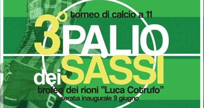 """3° Palio dei Sassi - """"Luca Cotrufo"""", i gironi: si parte il 9 giugno"""