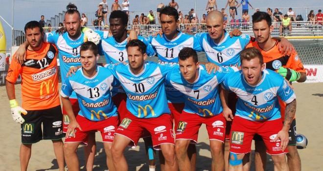 Serie A Beach Soccer, LIVE Lazio-Brescia