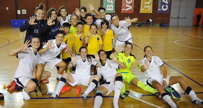 "U17 futsal, Italia-Kazakistan 5-1, ""manita"" delle azzurre all'esordio"