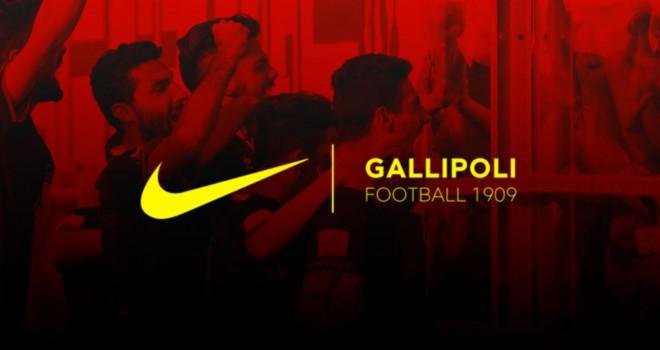 Gallipoli: è Nike lo sponsor tecnico per la stagione 2017/18