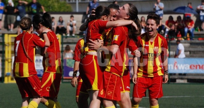 Le Streghe-Frattese 2-1: giallorosse qualificate alla finale play-off