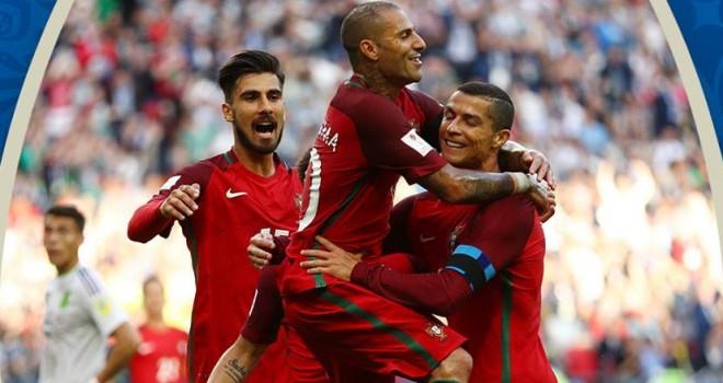 YouTube, Portogallo-Messico: VAR annulla gol di Pepe (Confederations Cup)