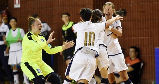 U17 futsal, Italia-Russia 4-3, azzurrine strepitose vincono il Torneo